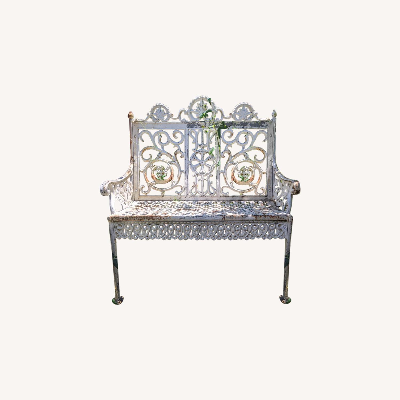 Antique Garden Bench - image-0