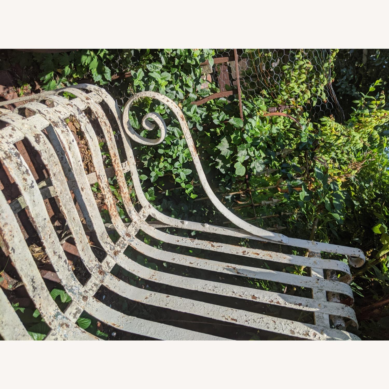 Antique Garden Bench - image-6