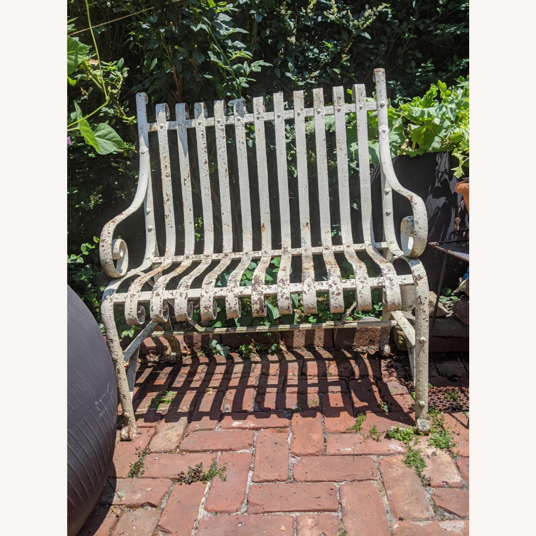 Antique Garden Bench - image-1