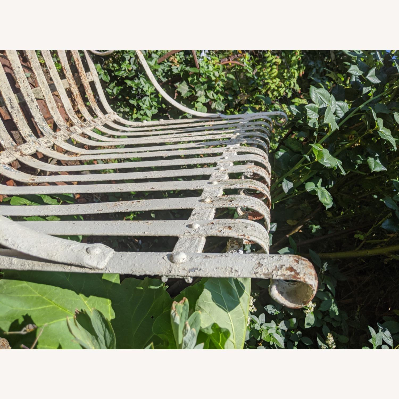 Antique Garden Bench - image-8