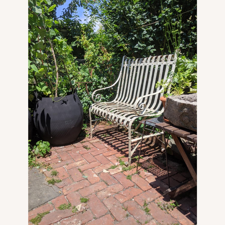 Antique Garden Bench - image-2