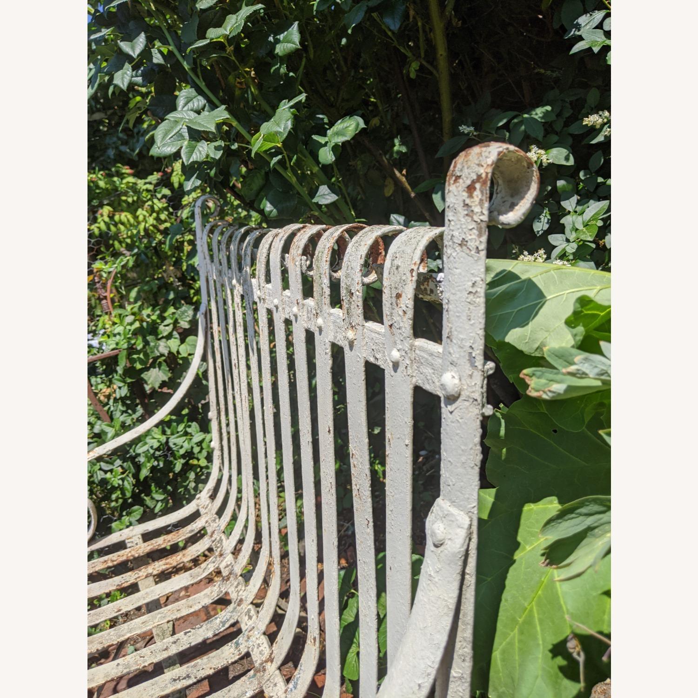 Antique Garden Bench - image-4