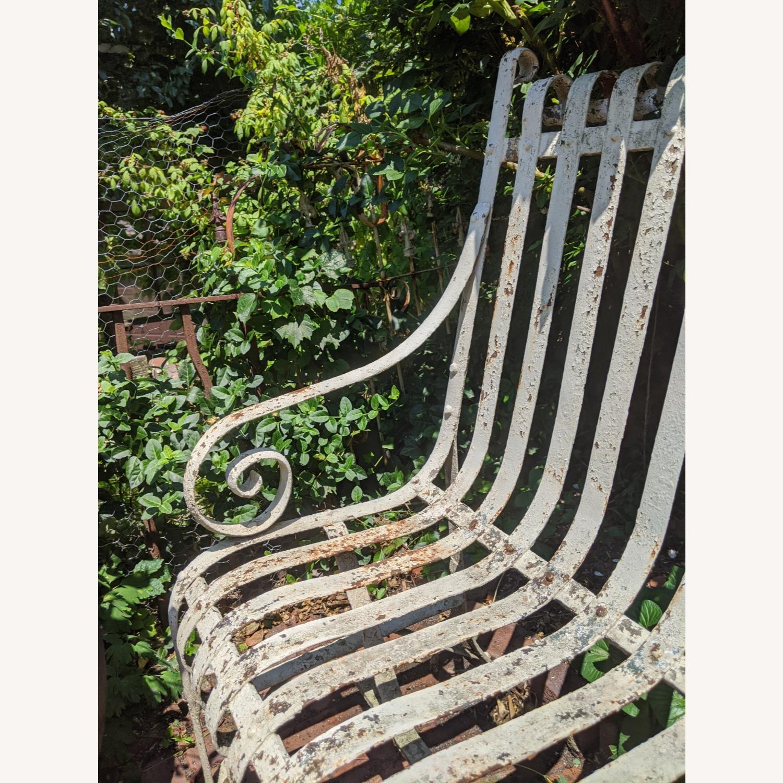 Antique Garden Bench - image-3