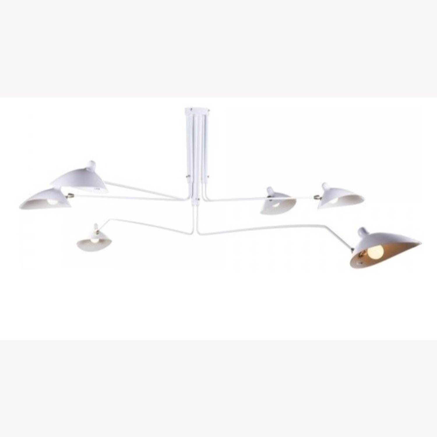 1Stdibs Serge Mouille Mid-Century Modern Ceiling Lamp - image-2
