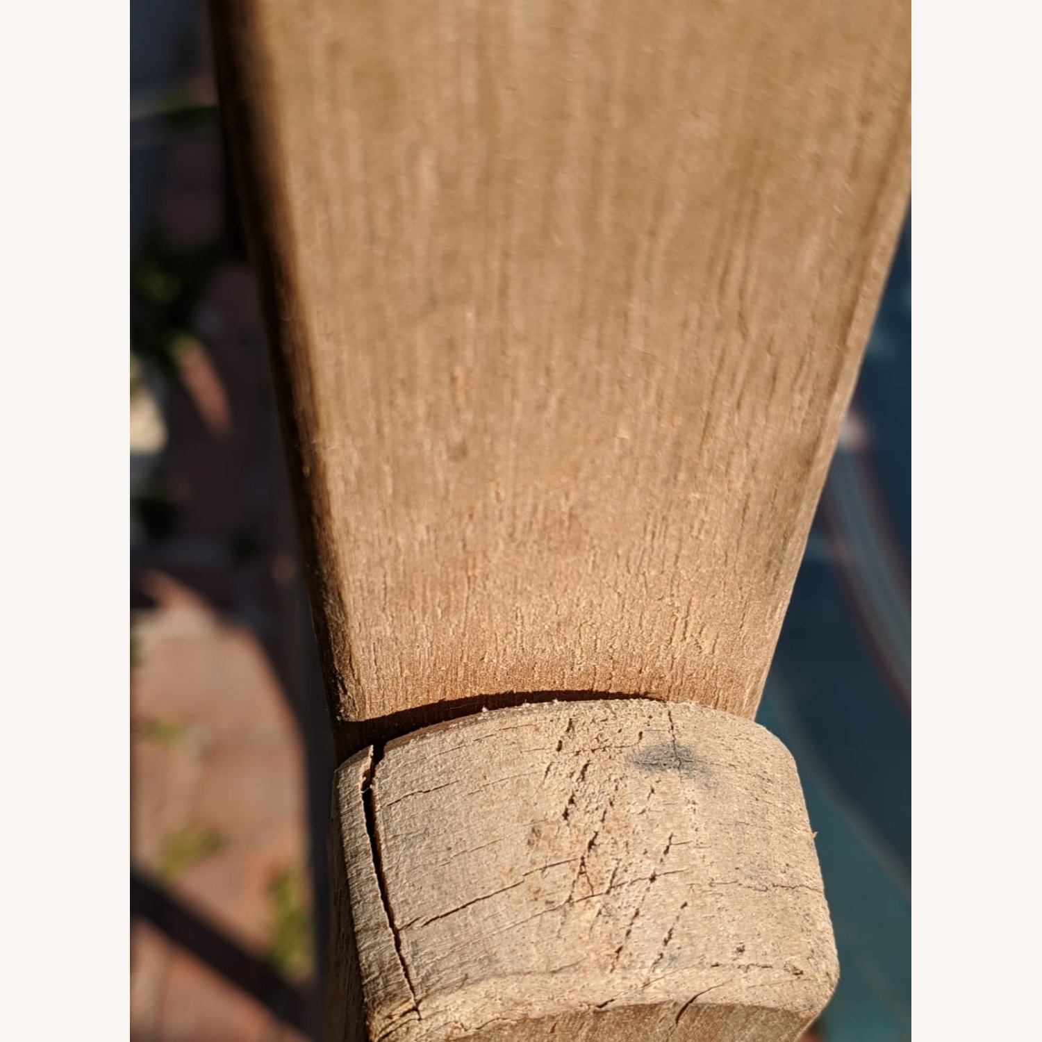 Reatoration Hardware 2 outdoor Sling Chairs with foot rests - image-6