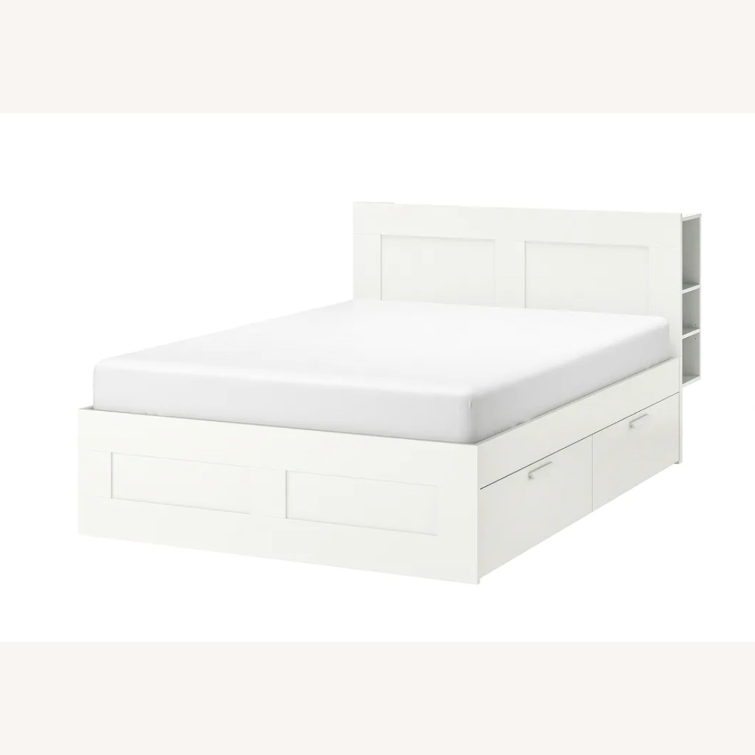 Ikea Full Size Bed Frame Headboard With Drawers Aptdeco