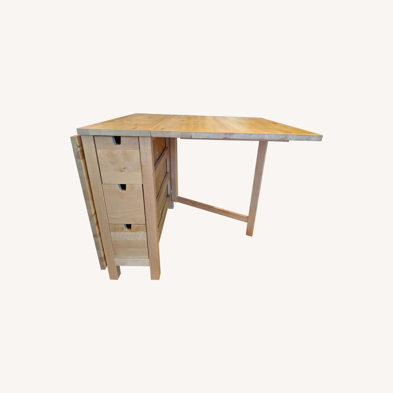 Ikea Norden Gateleg Table Aptdeco