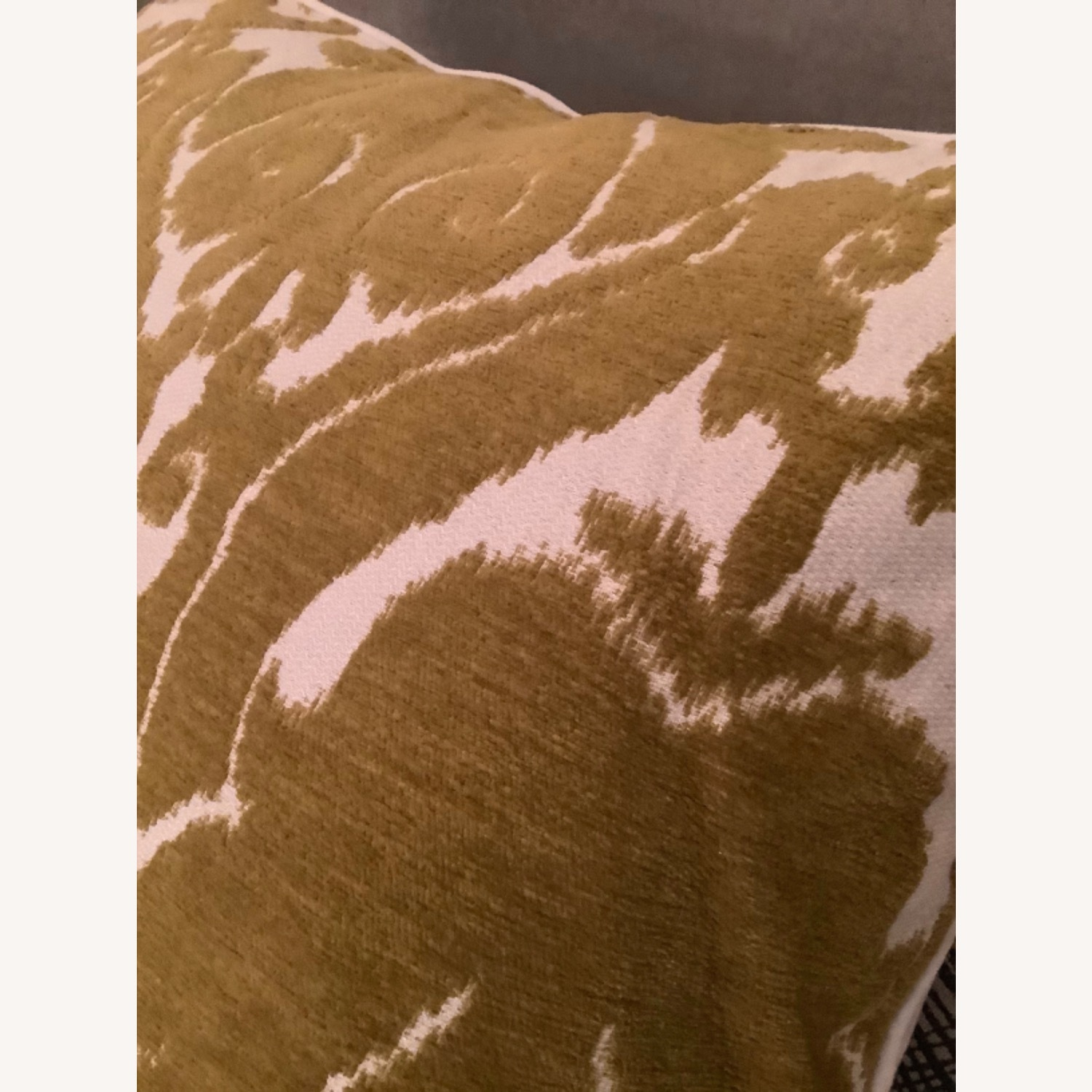 Jacquard Woven Chenille Throw Pillow - image-2