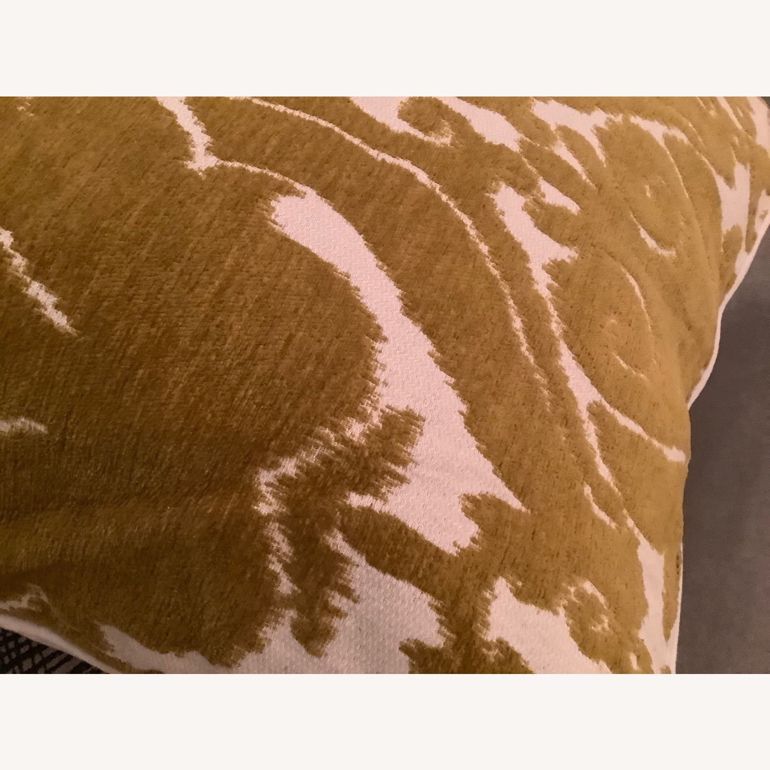 Jacquard Woven Chenille Throw Pillow - image-5