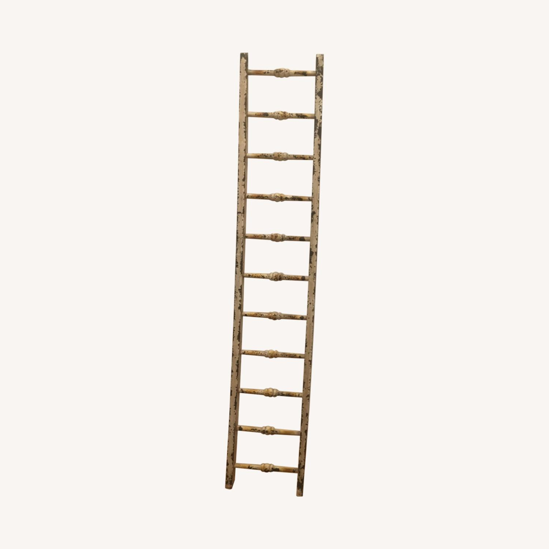 Antique Decorative Ladder - image-0