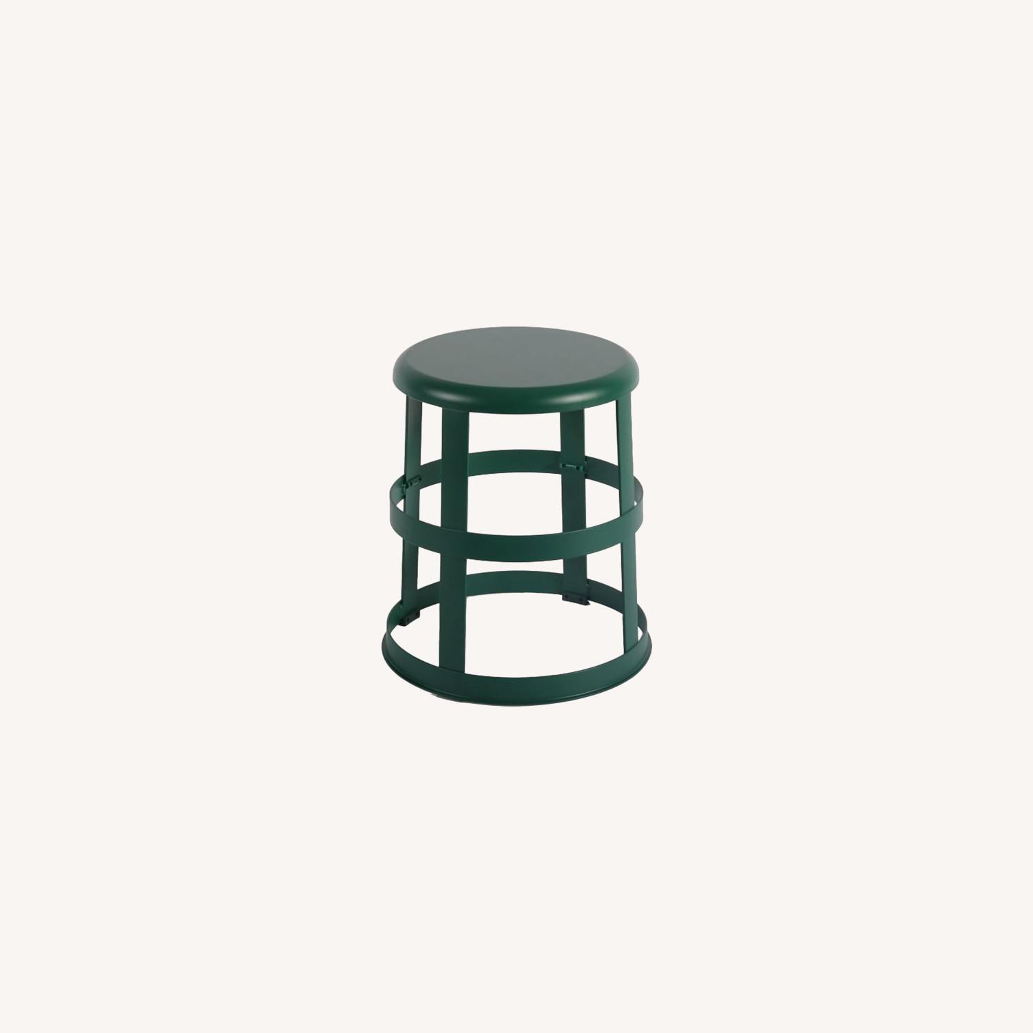 West Elm Good Thing Stool with Flange - image-0
