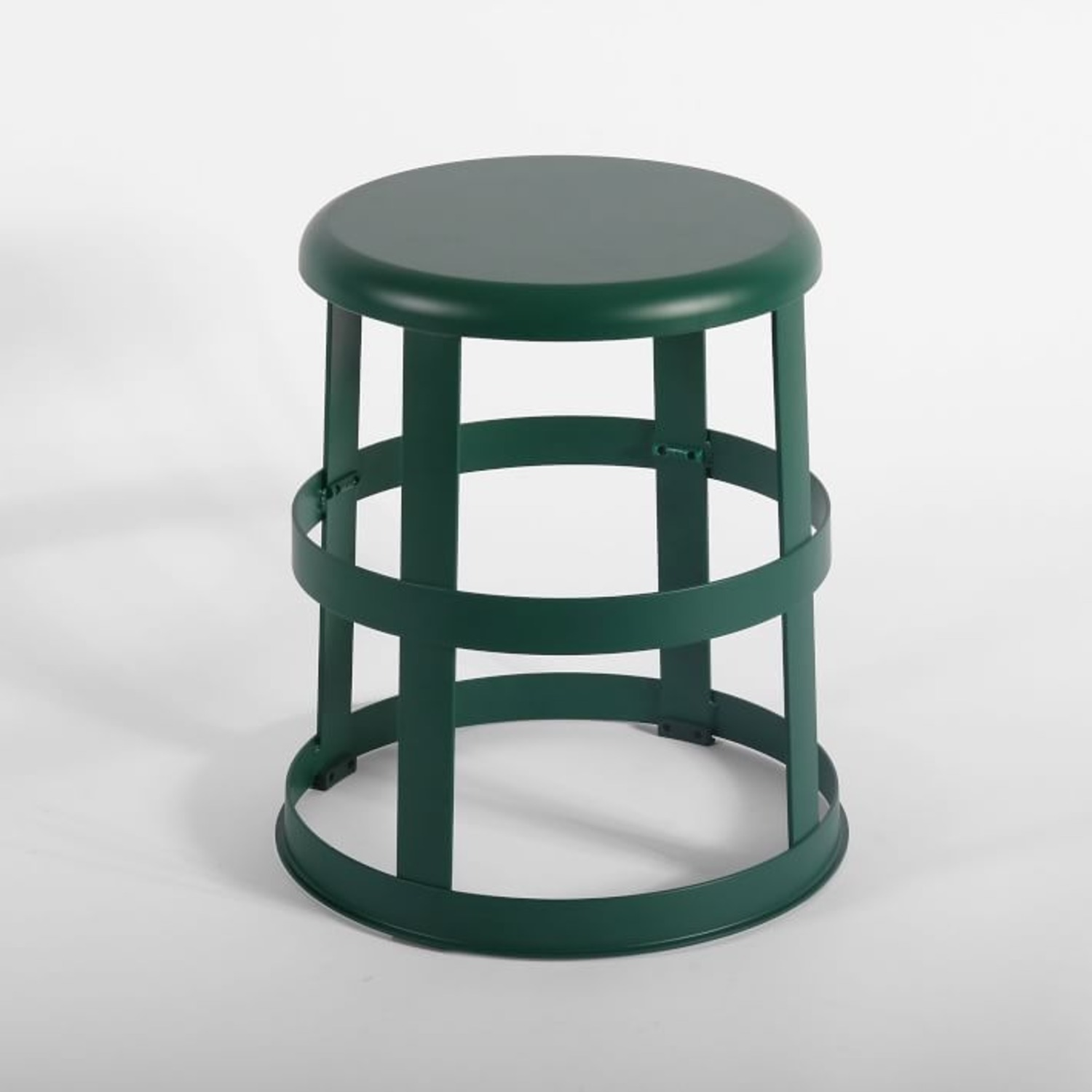 West Elm Good Thing Stool with Flange - image-1