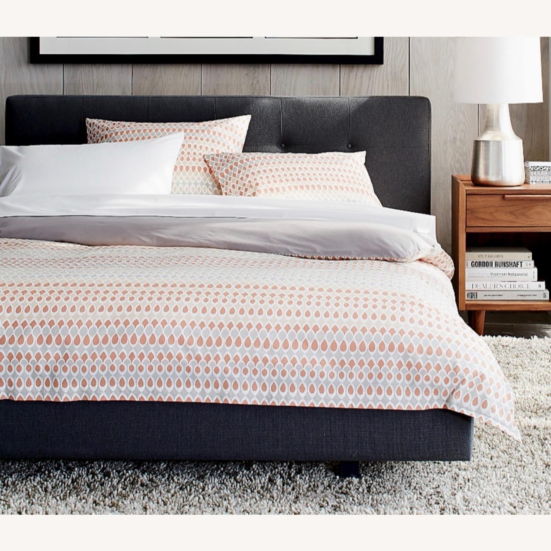 Crate & Barrel Tate King Bed - image-4