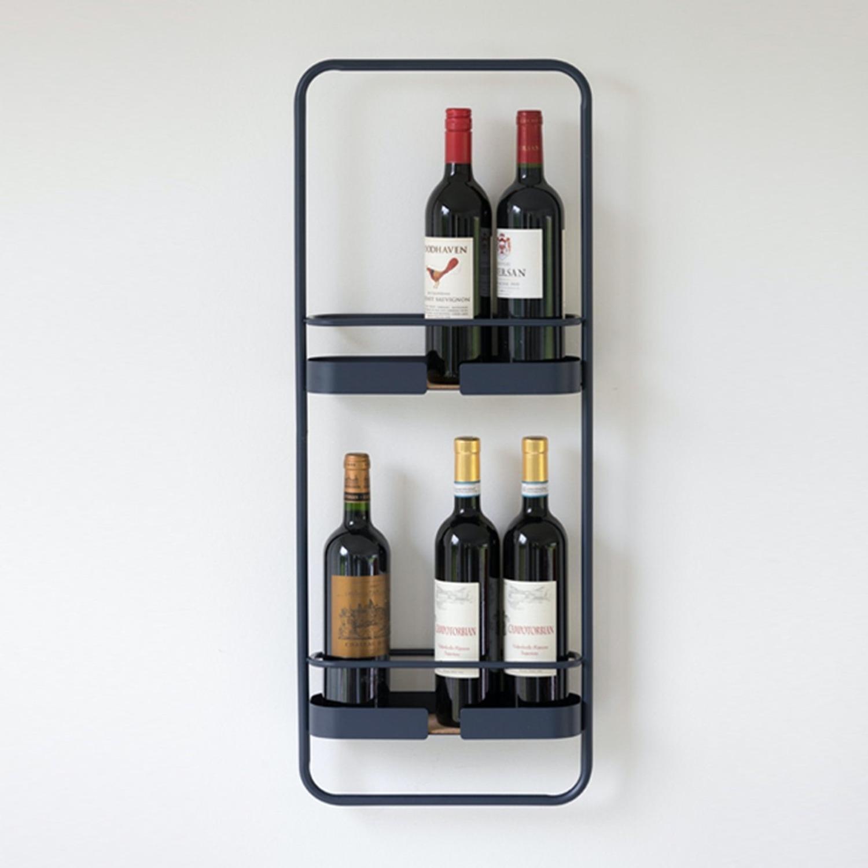 Big Hug Wine Rack in Midnight Blue - image-2