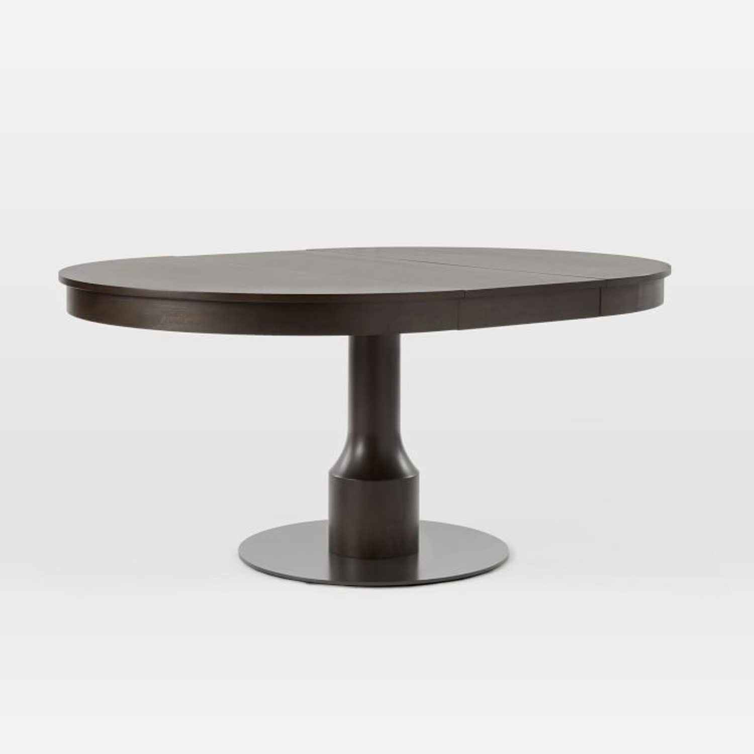 West Elm Turned Pedestal Expandable Dining Table - image-2