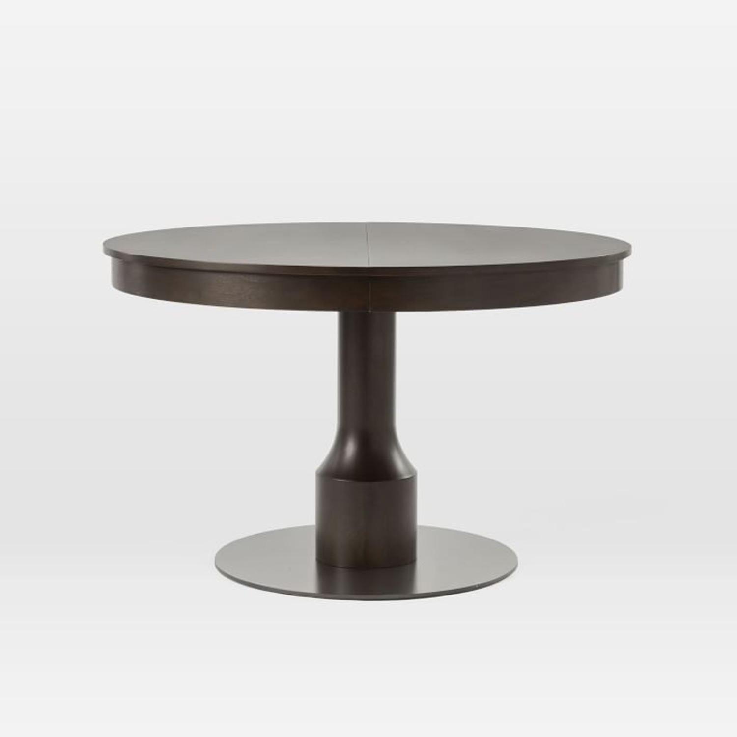West Elm Turned Pedestal Expandable Dining Table - image-1
