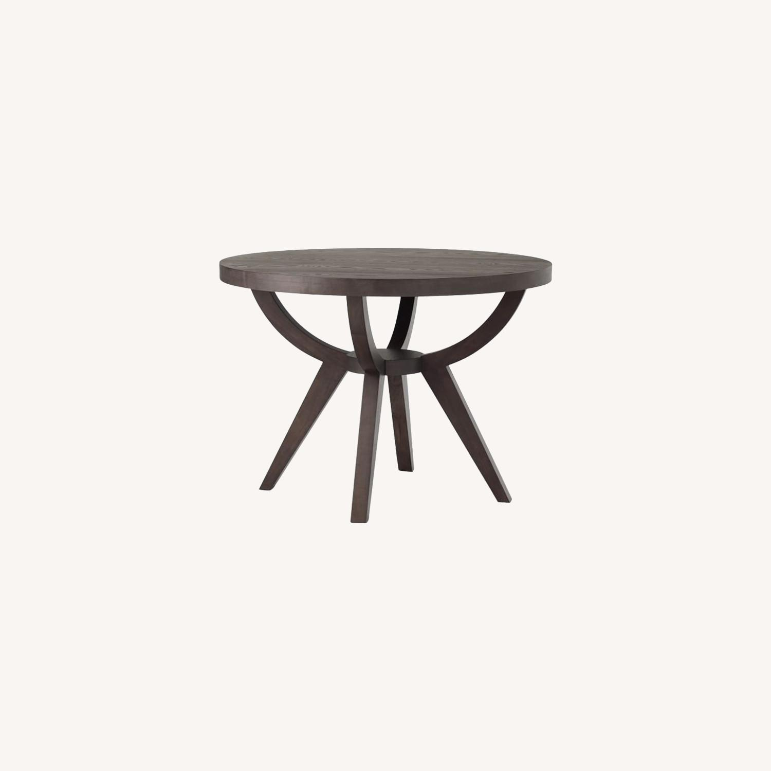 West Elm Arc Base Pedestal Table - image-0