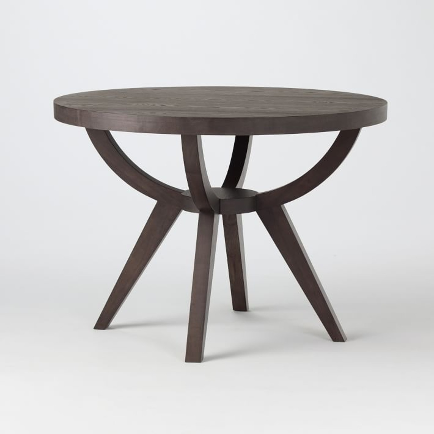 West Elm Arc Base Pedestal Table - image-1
