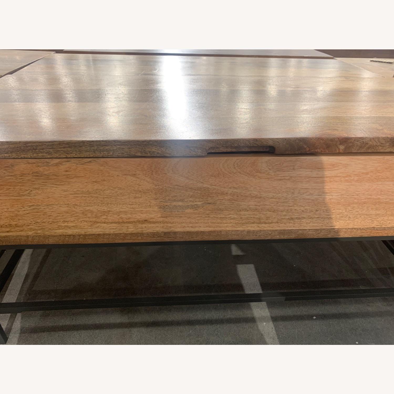 West Elm Industrial Storage Coffee Table - image-5