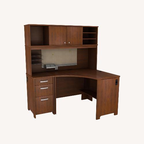 Used Bush Furniture 3 Piece Corner Desk for sale on AptDeco