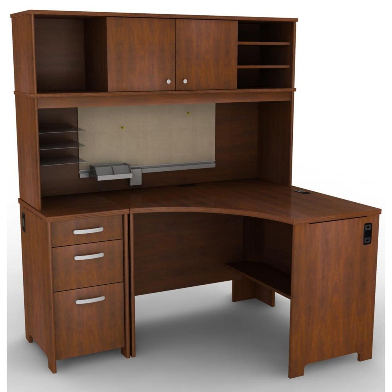 Bush Furniture 3 Piece Corner Desk - image-1