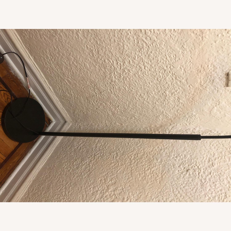 Modern Black Arch Floor Lamp - image-5