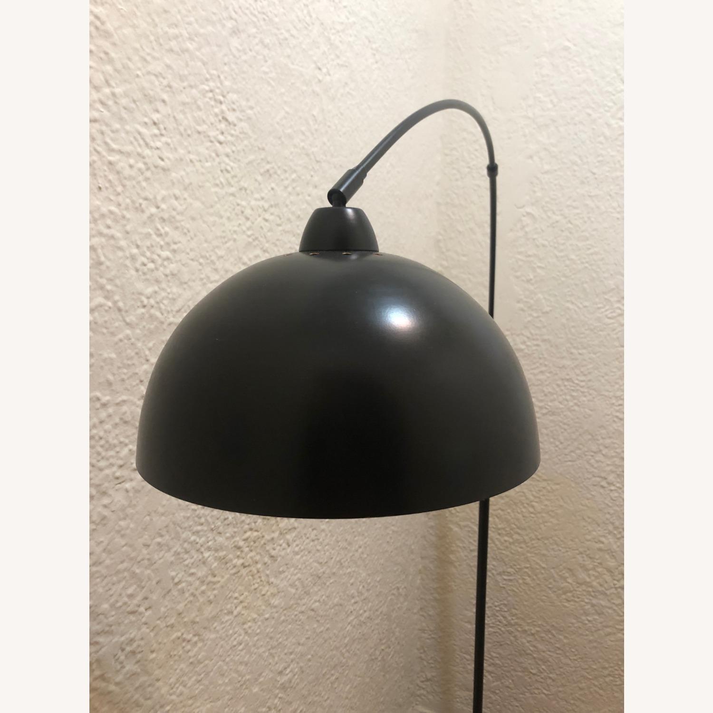 Modern Black Arch Floor Lamp - image-1