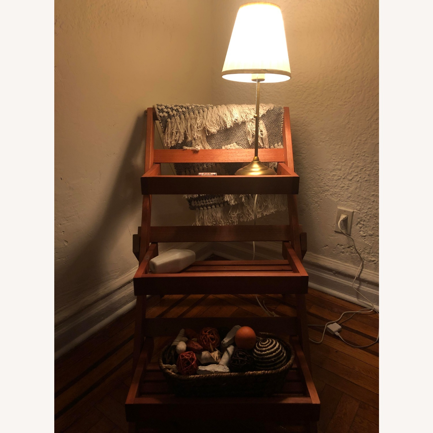 Pier 1 Imports Wood 3-Tiered Plant Stand - image-3