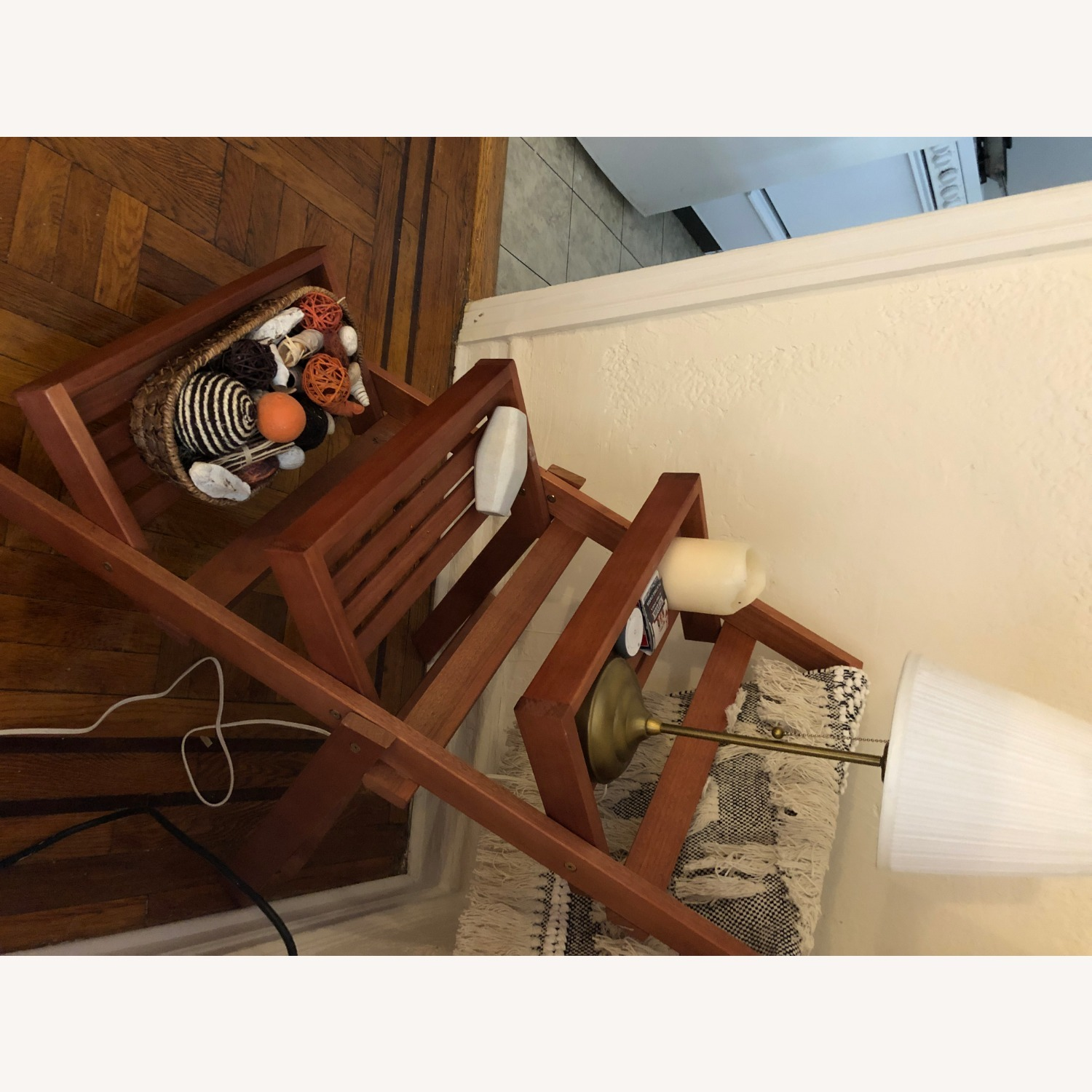 Pier 1 Imports Wood 3-Tiered Plant Stand - image-4