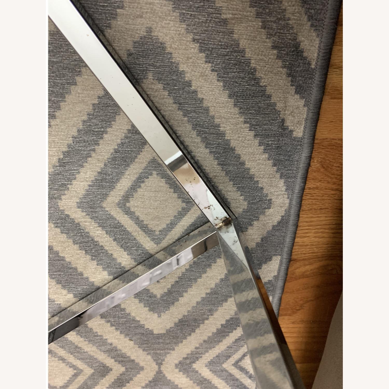 CB2 Glass Coffee Table - image-3
