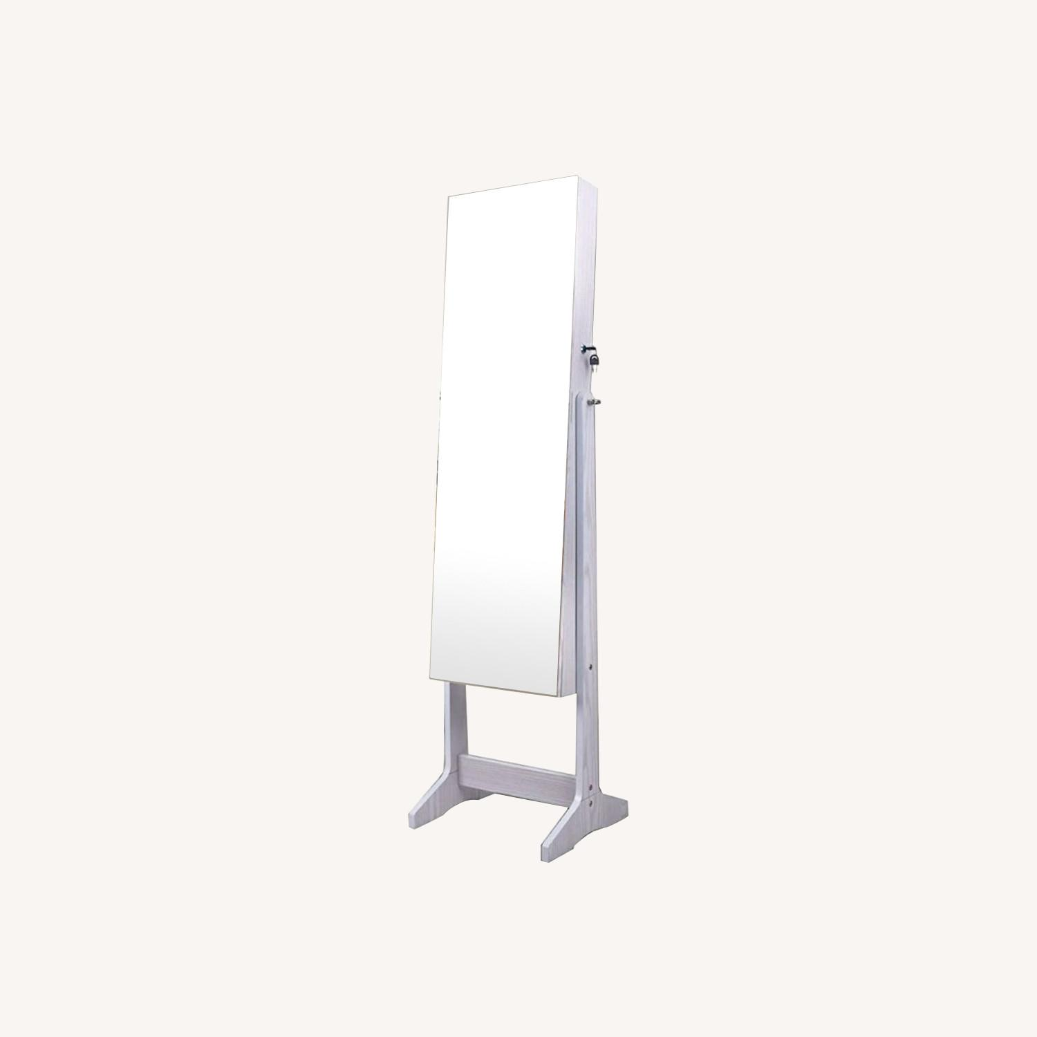 CISCO Brothers Full Length Mirror and Jewelry Organizer - image-0