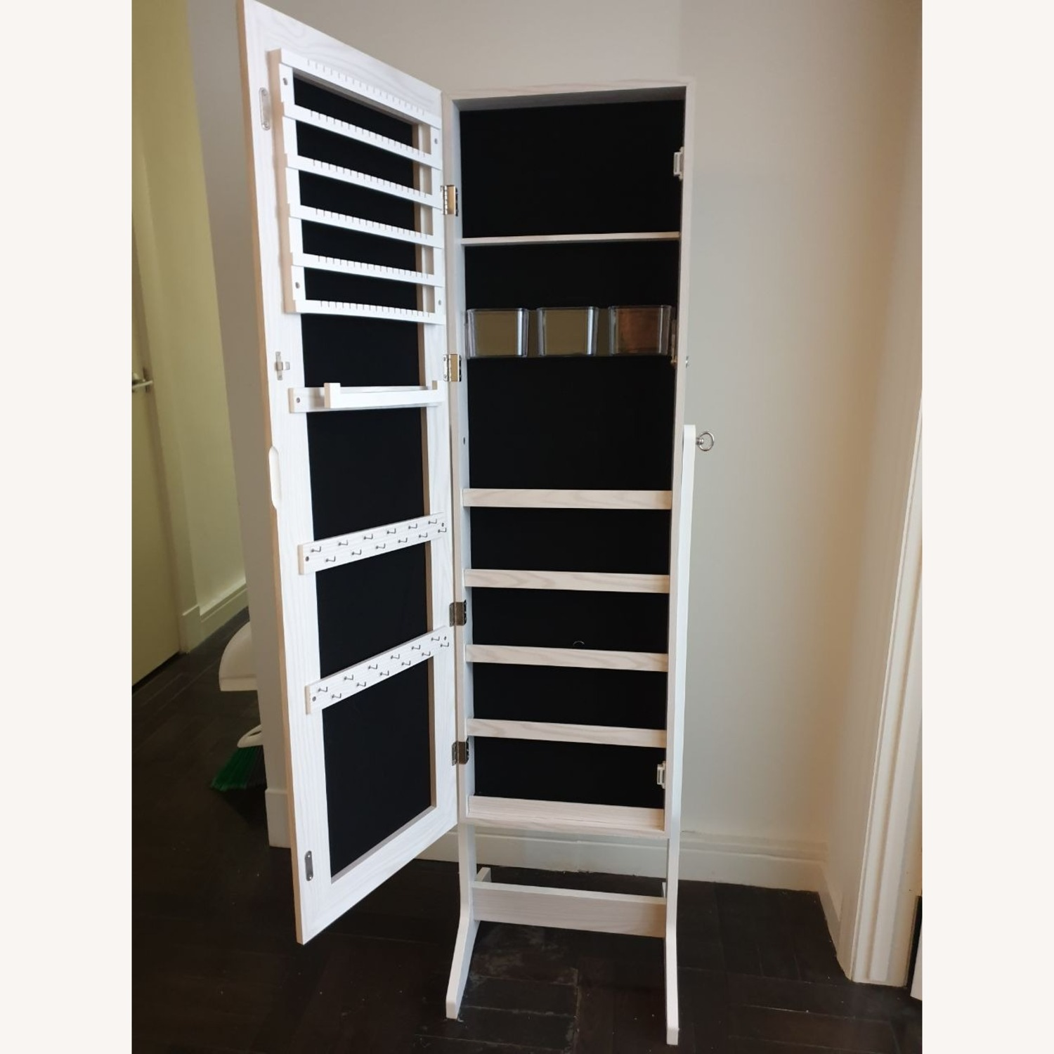 CISCO Brothers Full Length Mirror and Jewelry Organizer - image-4