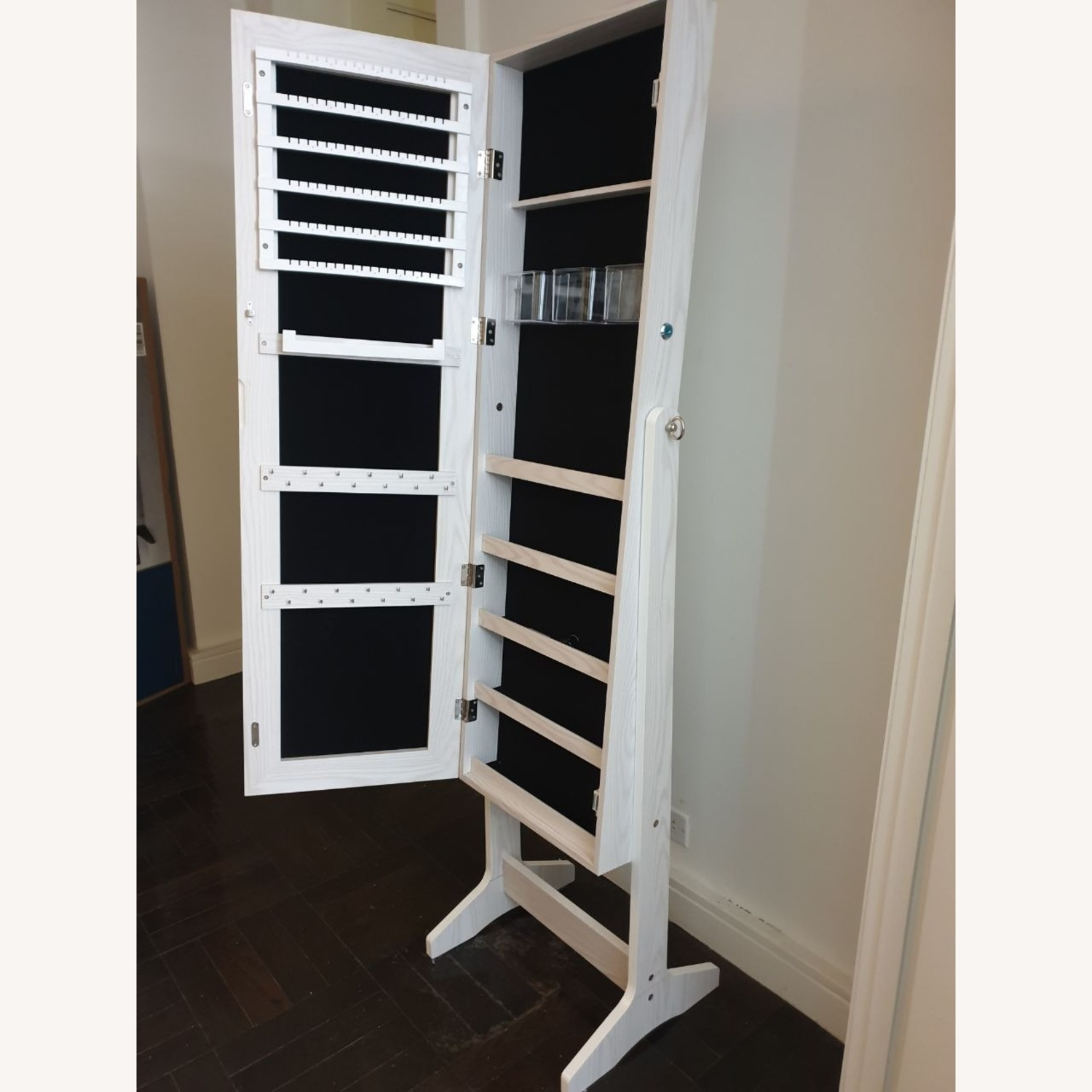 CISCO Brothers Full Length Mirror and Jewelry Organizer - image-3
