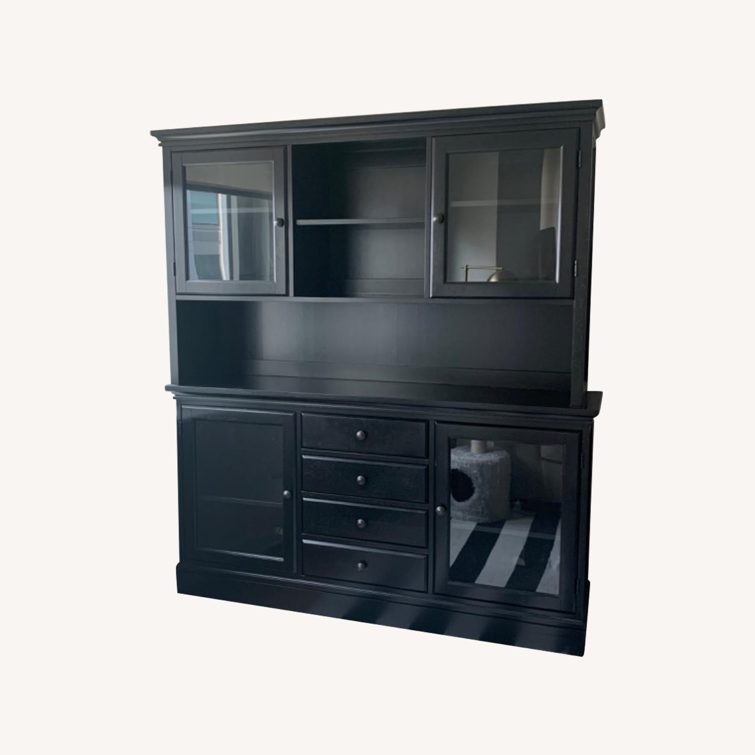 Pottery Barn Dining Hutch and Buffet - image-0