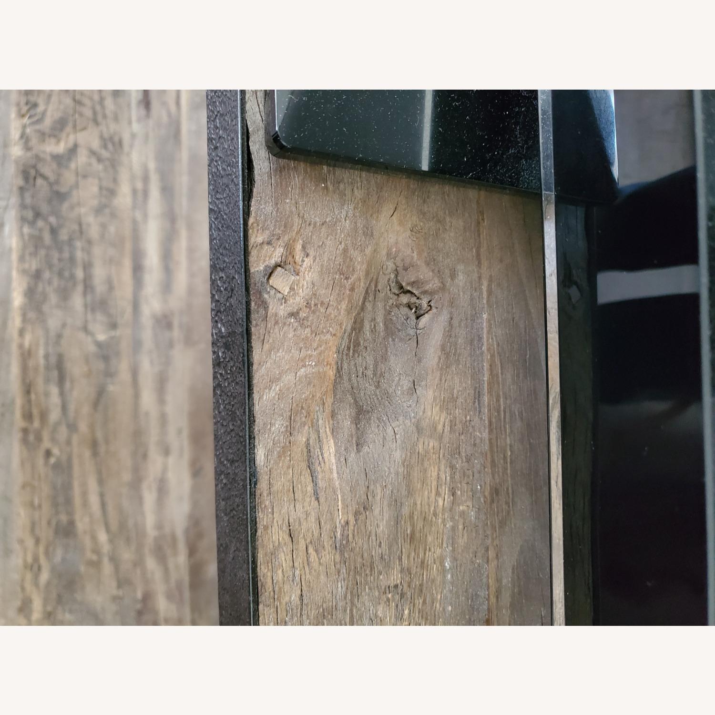 Restoration Hardware Reclaimed Iron + ELM Shelves - image-8