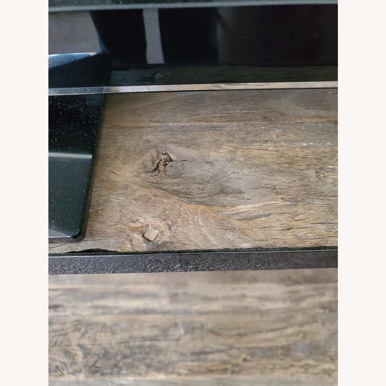 Restoration Hardware Reclaimed Iron + ELM Shelves - image-4
