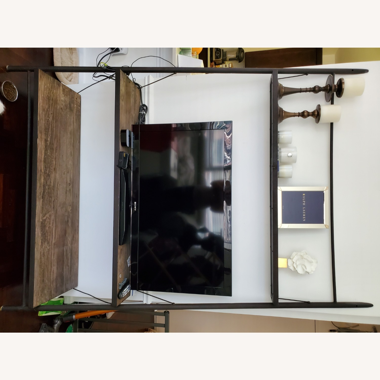 Restoration Hardware Reclaimed Iron + ELM Shelves - image-5
