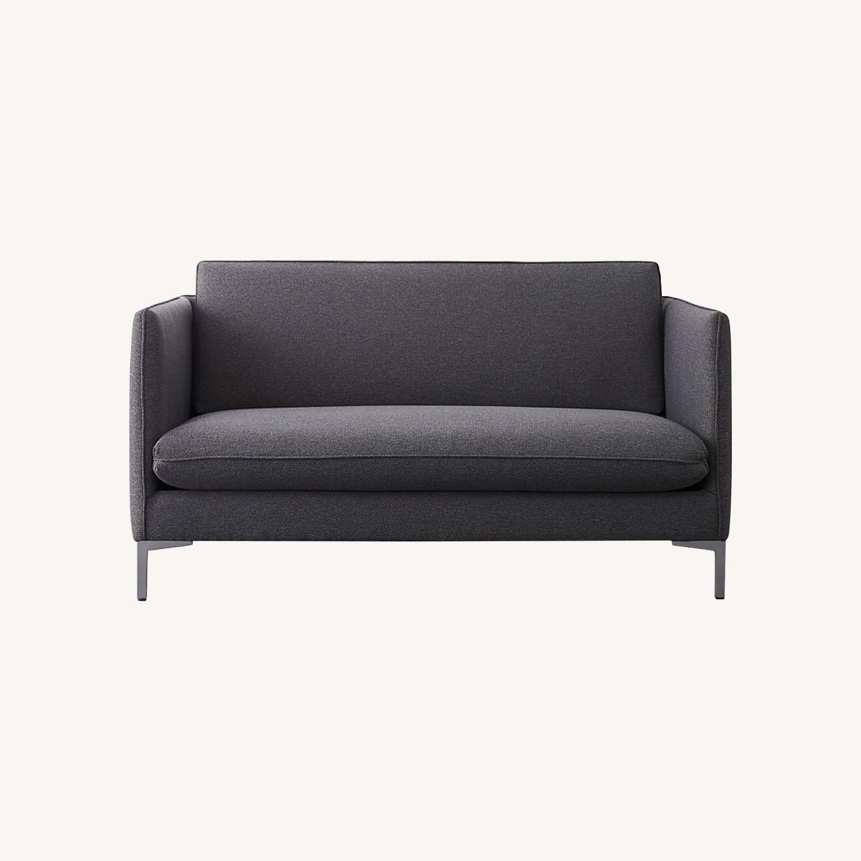 CB2 Flatiron Grey Sofa - image-0