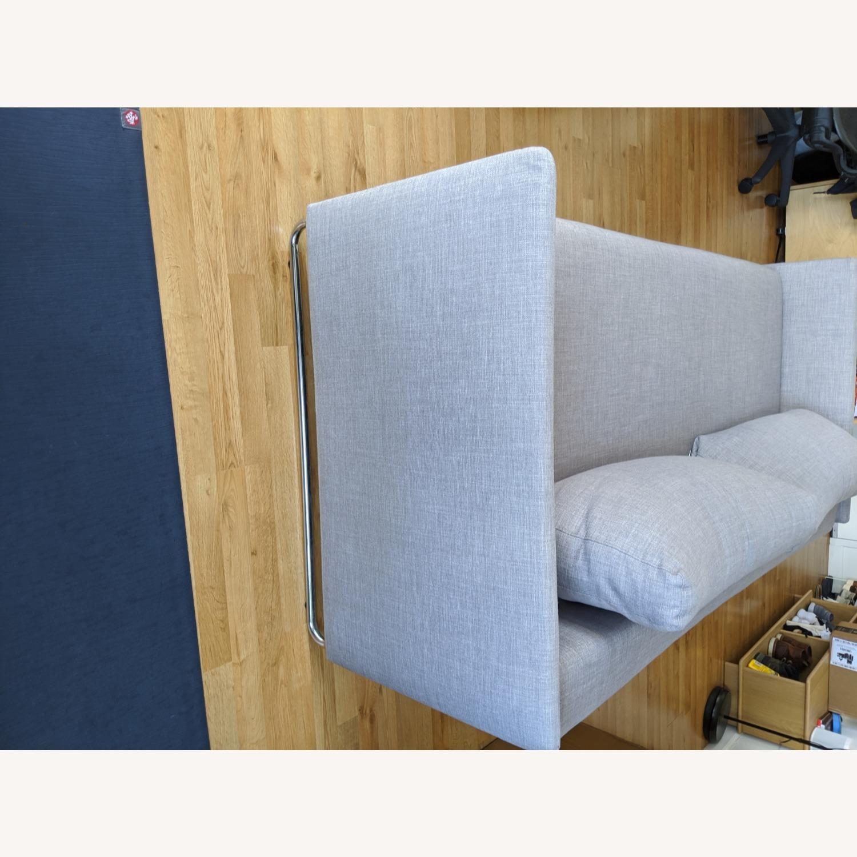 CB2 Tandom Dark Grey Sleeper Sofa - image-3
