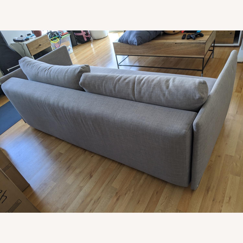 CB2 Tandom Dark Grey Sleeper Sofa - image-2