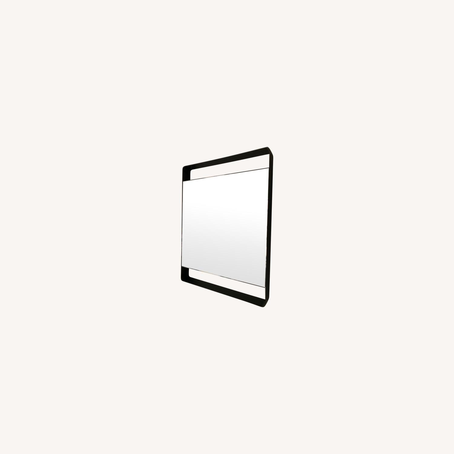 Crate & Barrel Colby Brass Mirror - image-0