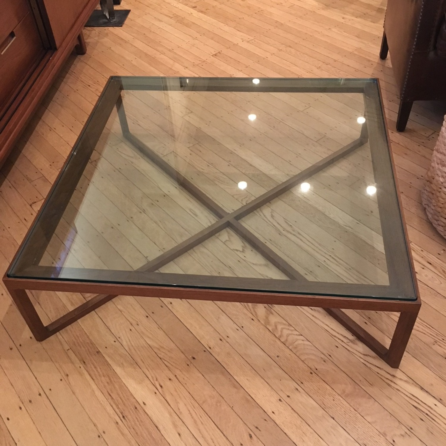 Design Within Reach Designer 4 KNOLL Coffee Table - image-1