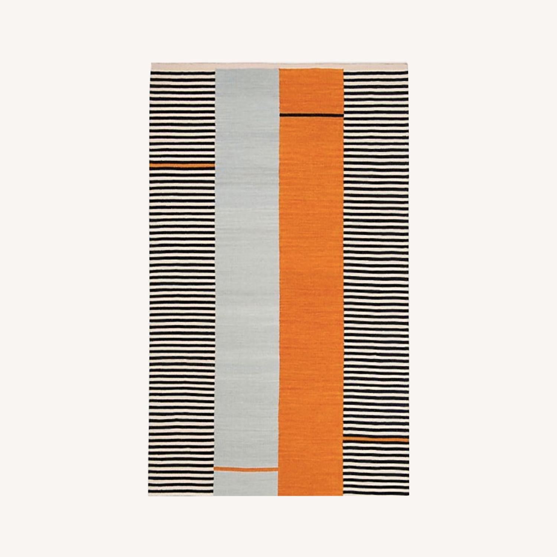 Ralph Lauren Stripe Jute Rug - image-0