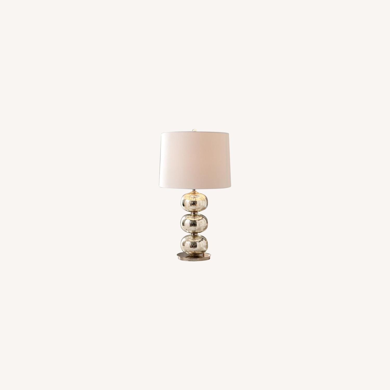 West Elm Abacus Mercury Glass Table Lamp - image-0