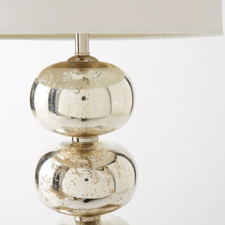 West Elm Abacus Mercury Glass Table Lamp - image-2