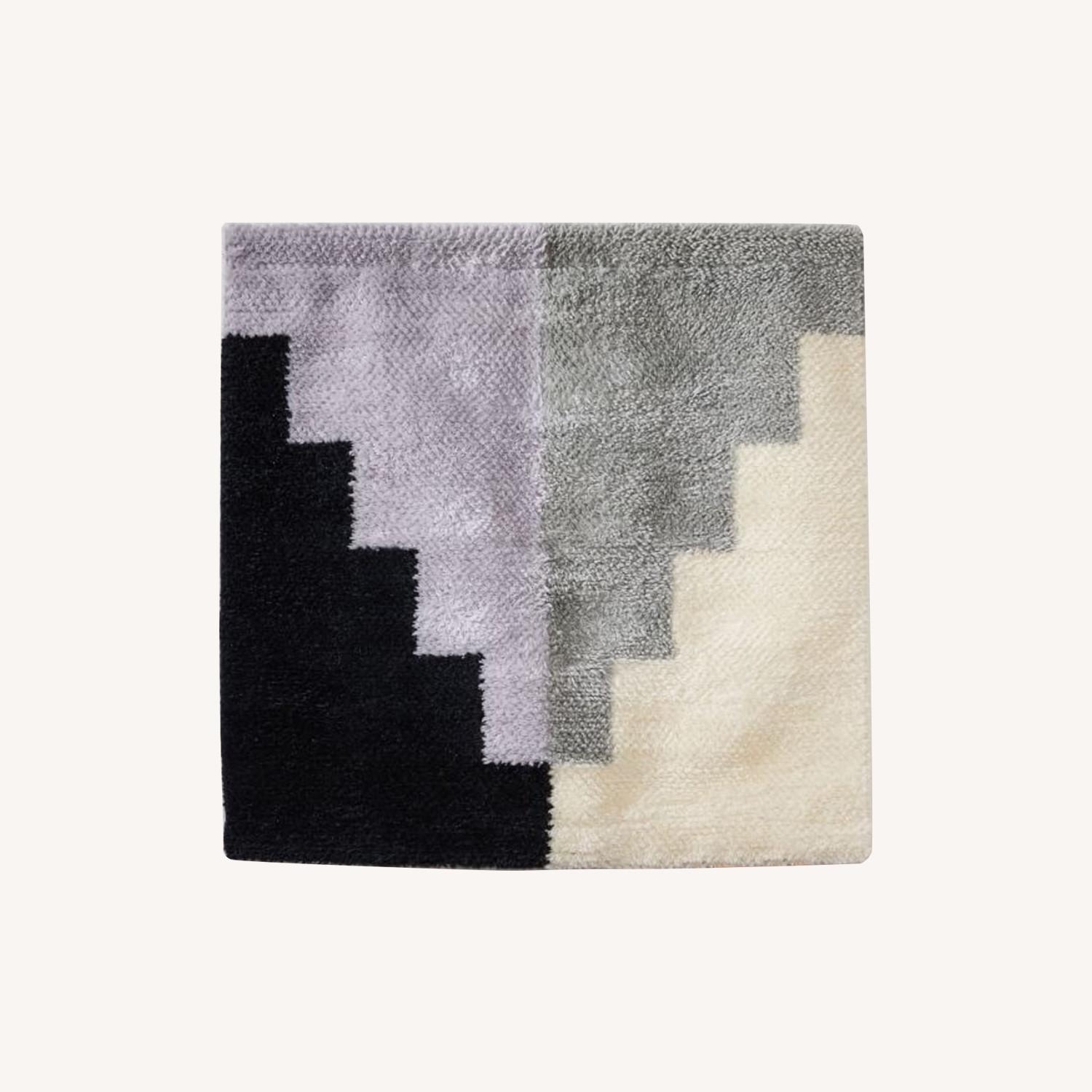 West Elm Woven Shag Tapestry Wall Art - image-0