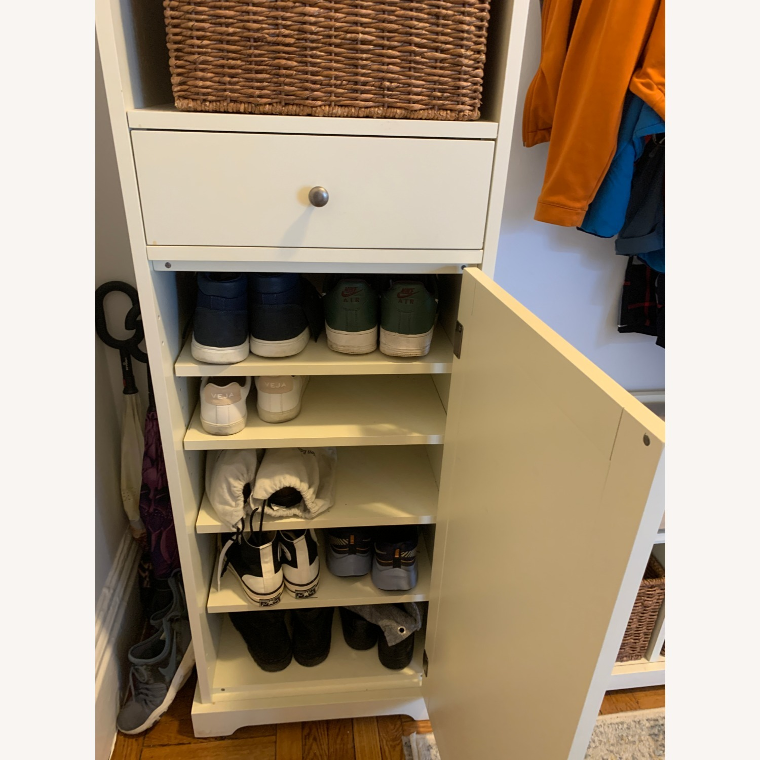 Pottery Barn 3-Piece Bench & Storage Cabinet - image-3
