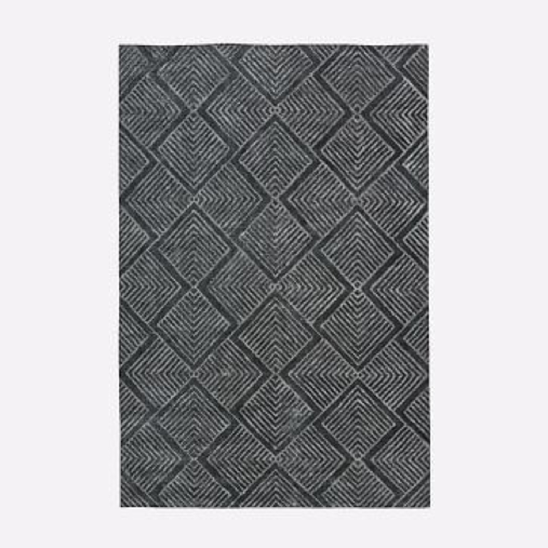 West Elm Radiating Diamonds Rug - image-1