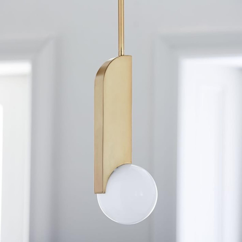 West Elm Bower LED Pendant - image-1
