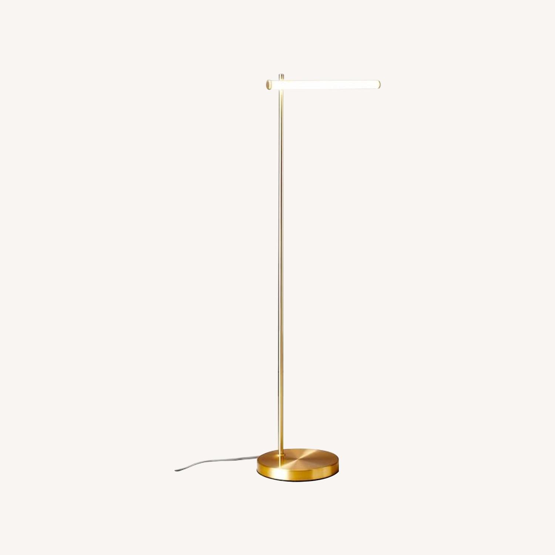 West Elm Light Rods LED Reader Floor Lamp - image-0